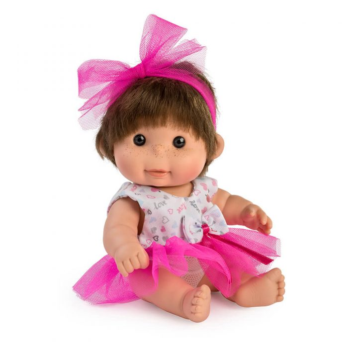 Mini Betty pink tulle doll