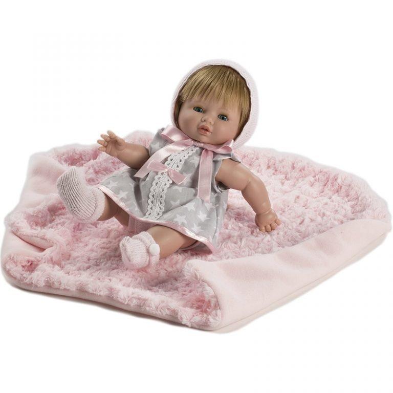 Baby Chusin Vinyl Doll 34 cm