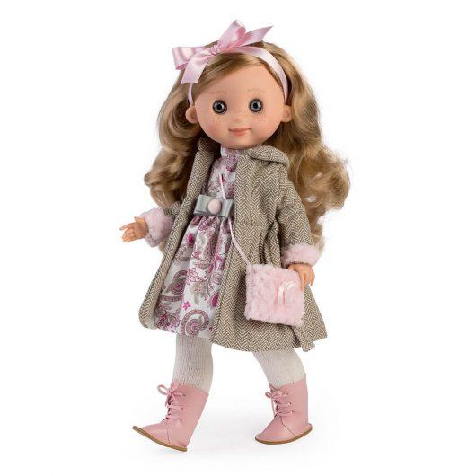 4750 Linda doll coat and tights