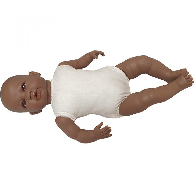 Muñeca para vestir Sara mulata 50 cm