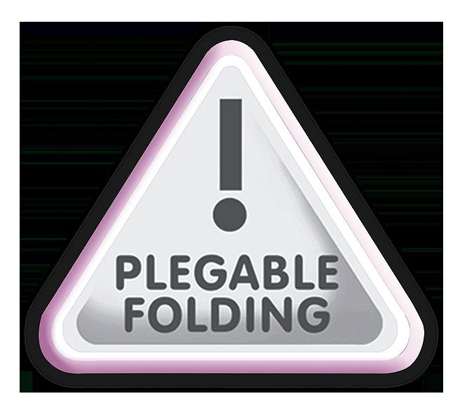 Foldable doll's pram with sunshade